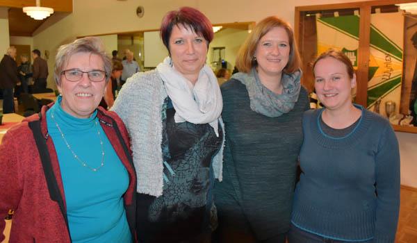 von links nach rechts: Helga Müller, Heike Höhn, Sandra Talmon-Gros, Heike Kleiser