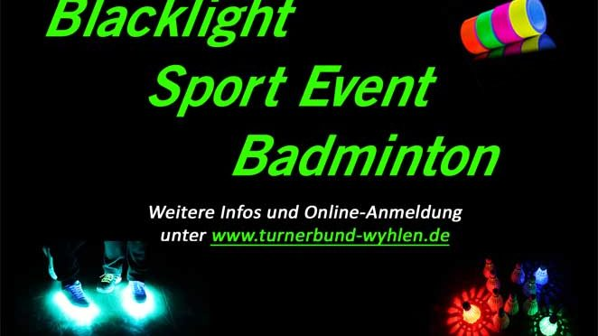 ABSAGE – Blacklight Sportevent am 28.11.